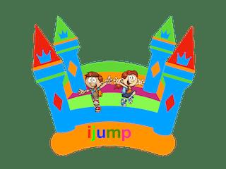 ijump jumping castles logo