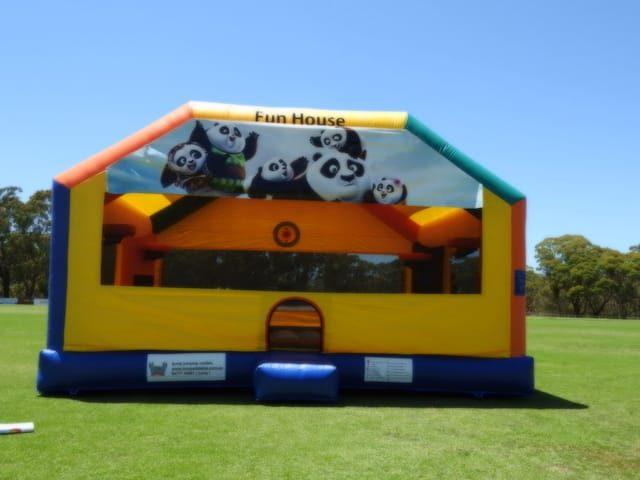 Fun house bouncing castle