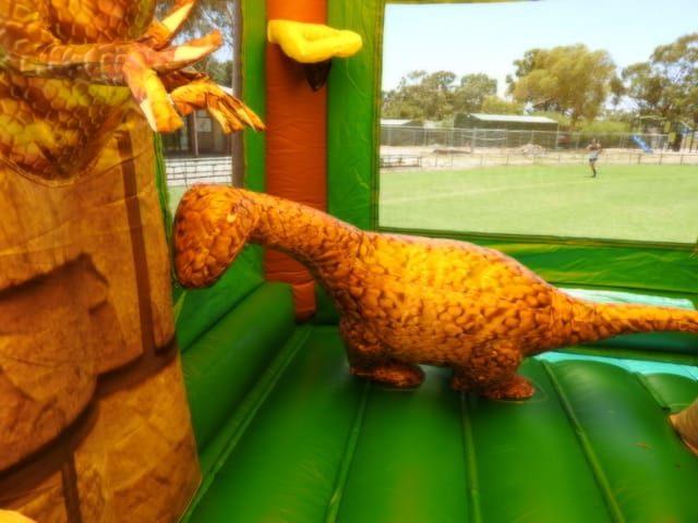 Jurassic inside dinosaur