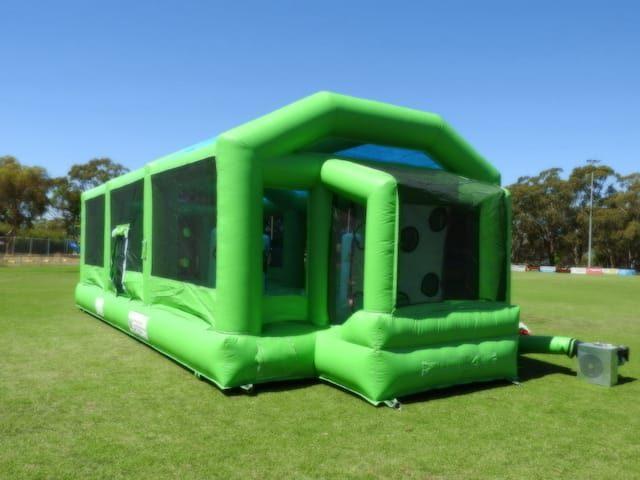 Bounce soccer pitch
