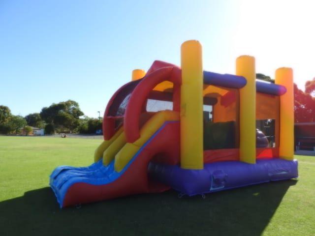 Inflatable Obstacle slide
