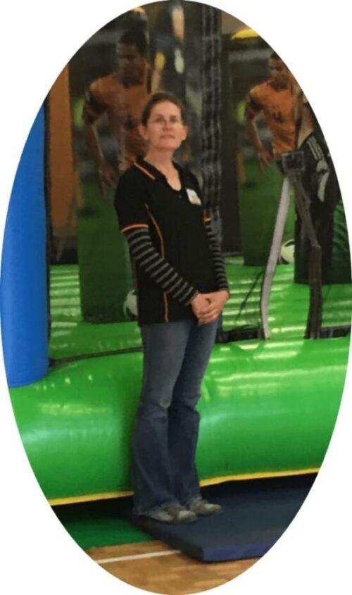 Photo of jumping castle installer / supervisor