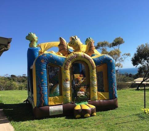 Dinosaur kingdom jumping castle
