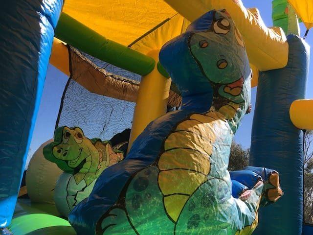 Dinosaur kingdom inside dino