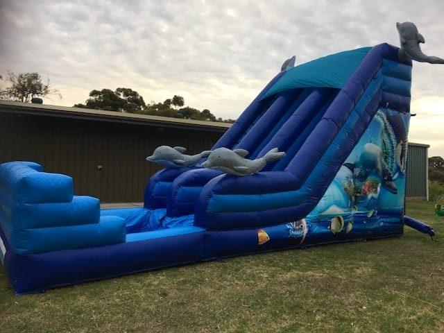 Inflatable Waterslide hire Adelaide