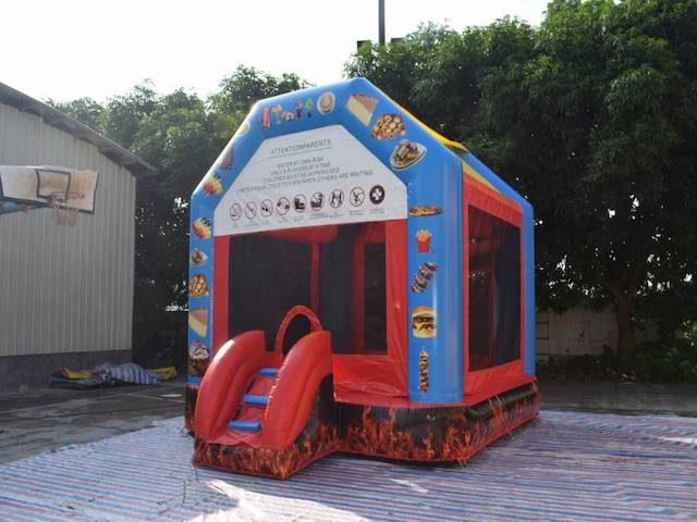 4x4 Bouncy Castle